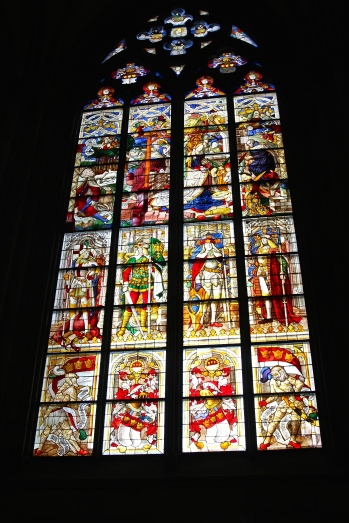 One of five windows on the South side given by Ludwig I of Bavaria.