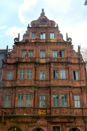 Hotel Ritter...oldest building in the city