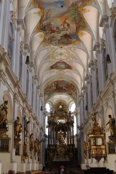 Incredible interior of St. Peter's Church