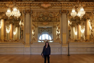 Random beautiful ballroom on the top floor of the Musée D'Orsay