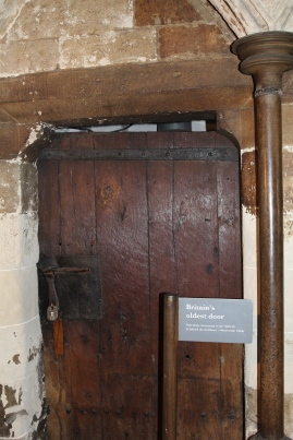 Westminster Abbey - the oldest door in Britain