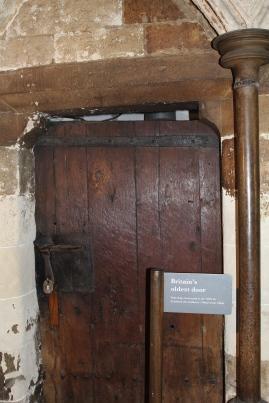 Westminster Abbey - the oldest door in Britain
