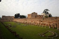 Courtyard in the Roman Palatine