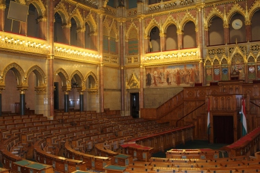 Inside the Parliament