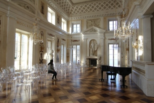 Grand ballroom in the palace