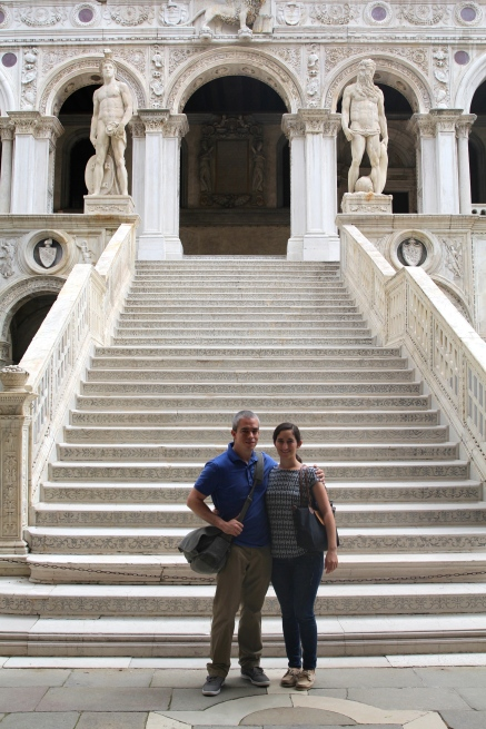 Doges Palace - stairs only used by the Doge