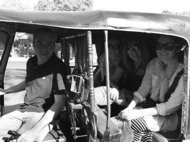 Rickshaw ride!
